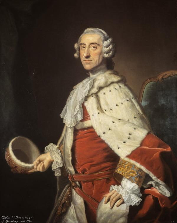 Charles Douglas, 3rd Duke of Queensberry, 1698 - 1778. Keeper of the Great Seal of Scotland (after 1750)