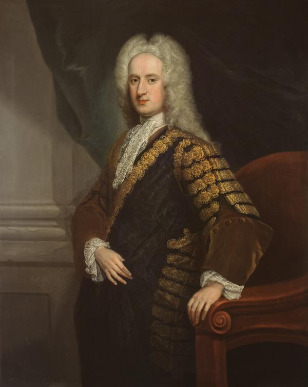 John Hay, 4th Marquess of Tweeddale, c 1695 - 1762. Lord Justice-General for Scotland (About 1728)