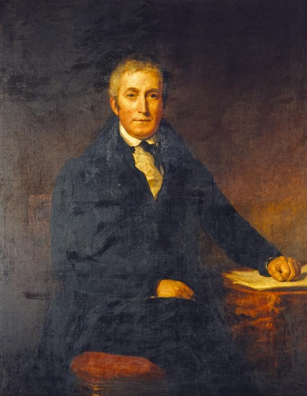 Alexander Cowan, 1775 - 1859. Paper-maker and philanthropist (About 1836)