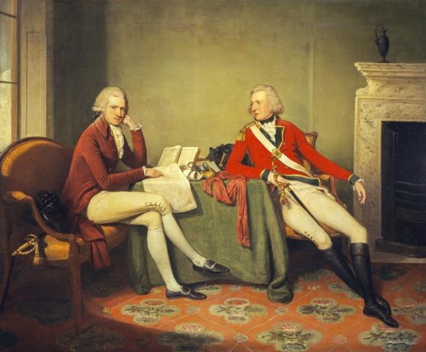 Sir James Murray-Pulteney, about 1755 - 1811. Soldier and politician (With Sir John Murray, about 1768 - 1827. Soldier) (About 1788 - 1794)