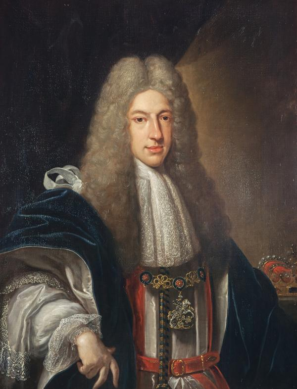 Prince James Francis Edward Stewart, 1688 - 1766. Son of James VII and II (1720)
