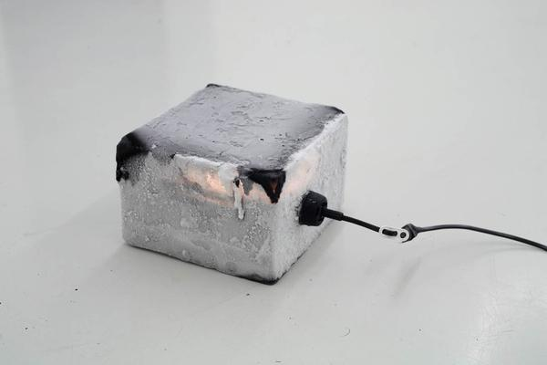 Untitled (Icelamp) (2006)