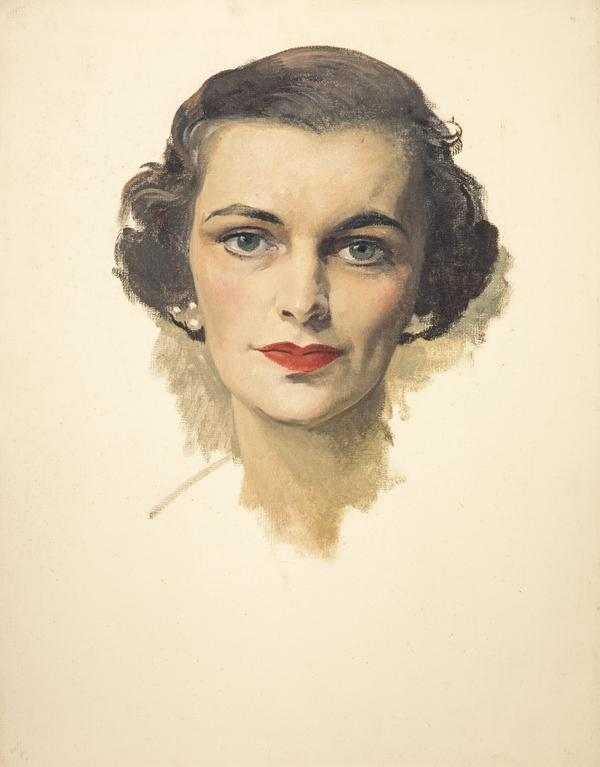 Margaret, Duchess of Argyll, 1913 - 1993 (wife of the 11th Duke of Argyll) (About 1953)