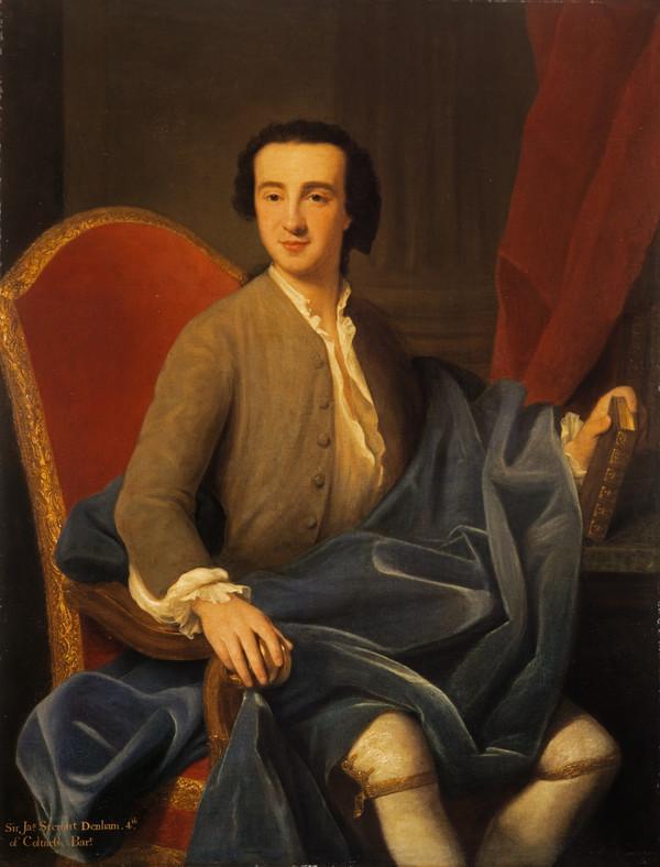 Sir James Steuart Denham, 1713 - 1780 (About 1739)