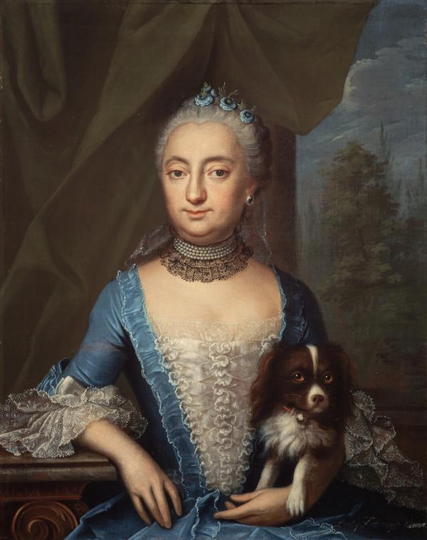Lady Frances Wemyss, Lady Steuart Denham, 1722 - 1789 (1761)