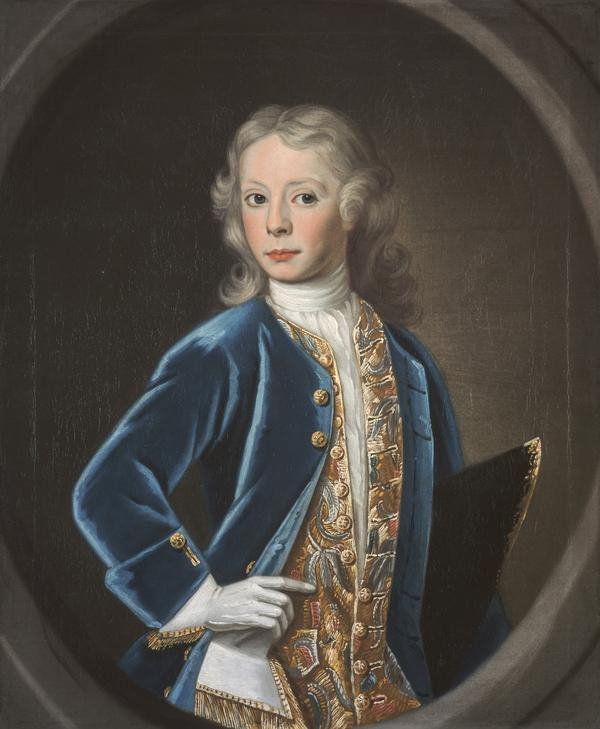 Lieutenant-Colonel Alexander Murray of Cringletie, 1719 - 1762, as a child (About 1730)