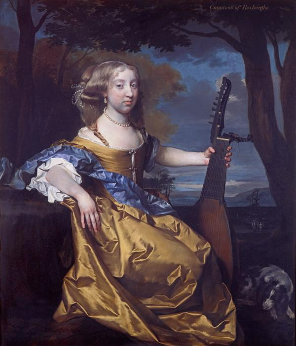 Lady Margaret Hay, Countess of Roxburghe, about 1657 – 1753 (About 1675)