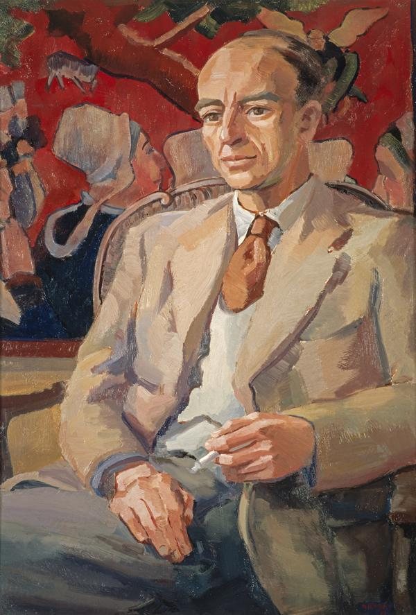 Alexander Reid, 1914 - 1982. Poet, playwright and editor (Dated 1954)