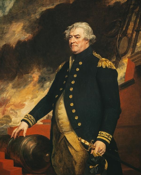 Adam Duncan, 1st Viscount Duncan of Camperdown, 1731 - 1804. Admiral (1798)