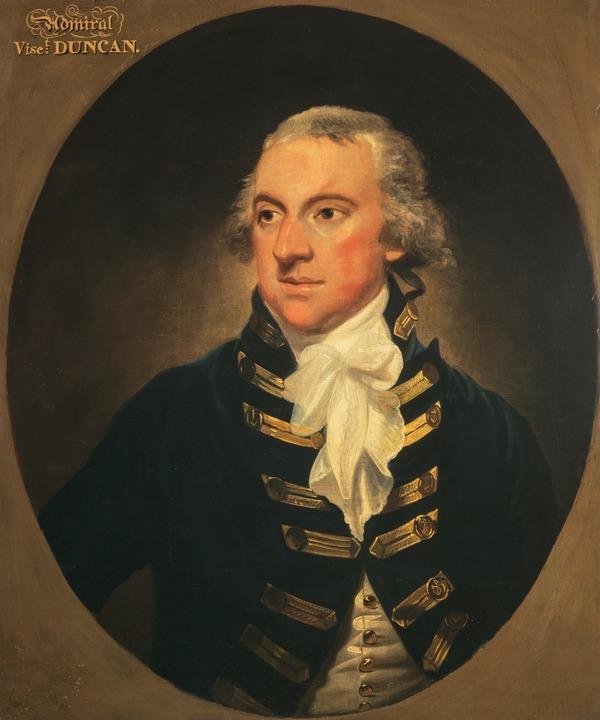 Adam Duncan, 1st Viscount Duncan of Camperdown, 1731 - 1804. Admiral (after 1798)