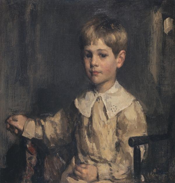 Dr Arthur Walton, 1897 - 1959. Son of Edward Arthur Walton. (as a child) (About 1900)