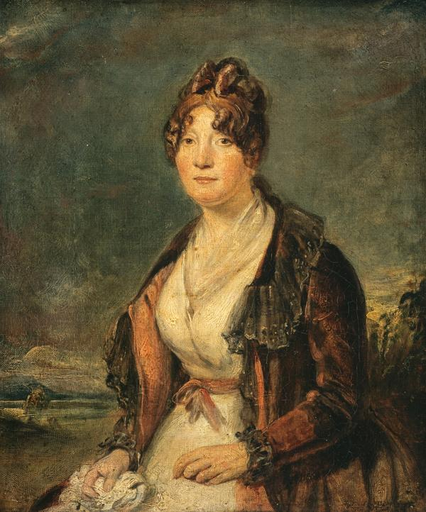 Margaret Chalmers, Mrs Lewis Hay, d. 1843. Friend and corres pondent of Robert Burns