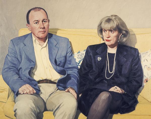 Brian Souter, b. 1954 and Ann Gloag, b. 1942. Entrepreneurs (1999)