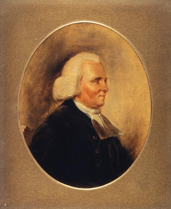 Rev. Thomas Blacklock, 1721 - 1791. Minister of Kirkcudbright and poet (after 1840)