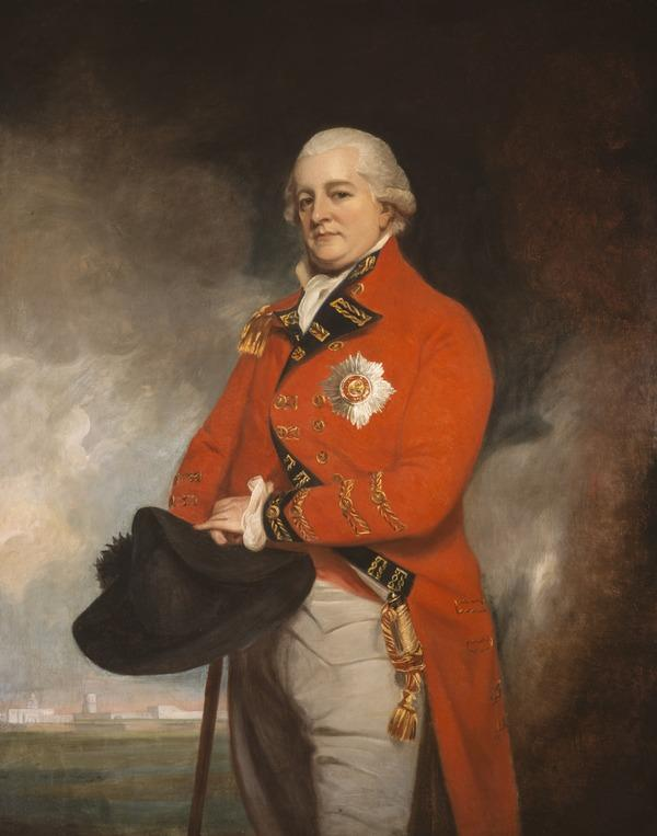 General Sir Archibald Campbell, 1739 - 1791. Soldier