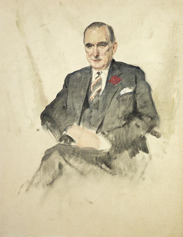 Hugh Fraser, Lord Fraser of Allander, 1903 - 1966. Businessman (1964)