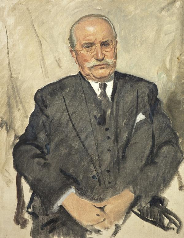 Sir John Weir, 1879 - 1971. Homeopathic Physician (About 1940 - 1950)