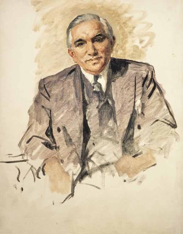 Sir Isaac Wolfson, 1897 - 1991. Businessman and Philanthropist (1955)