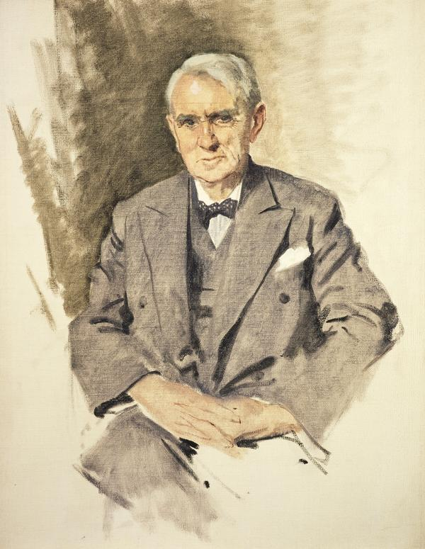 Tom Johnston, 1881 - 1965. Secretary of State for Scotland (About 1955)