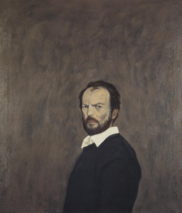 John ('Jack') Knox, b. 1936. Artist (Self-portrait) (About 1986)