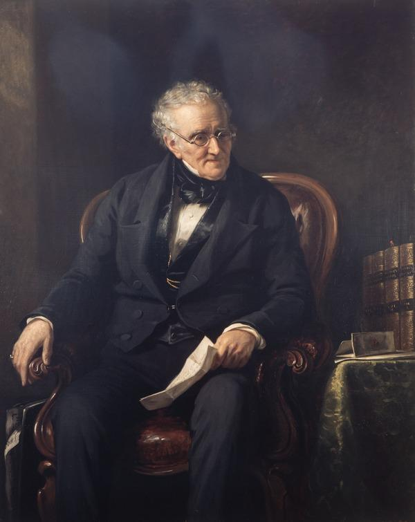 George Thomson, 1757 - 1851. Collector of Scottish songs (About 1846)
