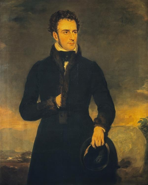 Captain Thomas Hamilton, 1789 - 1842. Soldier and writer (after 1830)