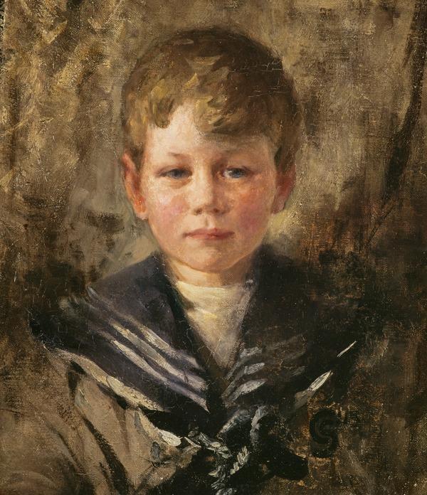 Alexander Esme Gordon, b. 1910. Architect. (As a child) (1915)
