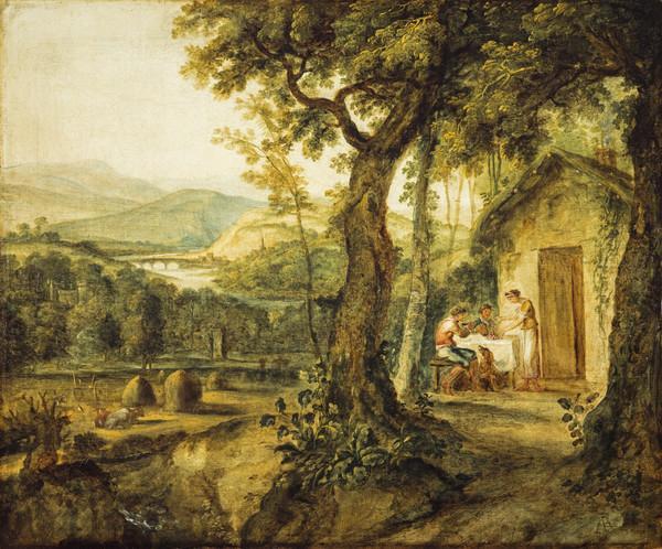A View near Perth, Landscape from Milton's 'L'Allegro'