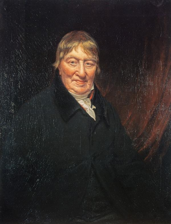 George Chalmers, 1742 - 1825. Author of Caledonia (Painted 1824)