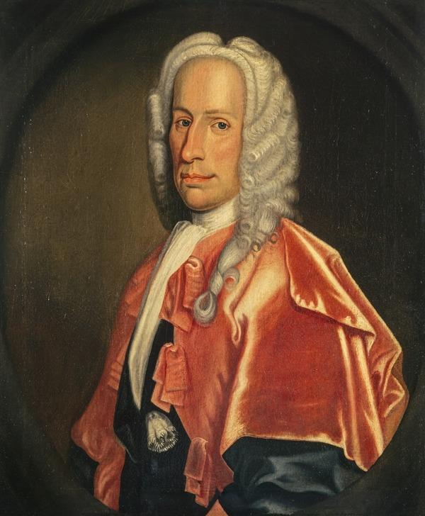 Duncan Forbes of Culloden, 1685 - 1747. Lord President of the Court of Session (About 1737)