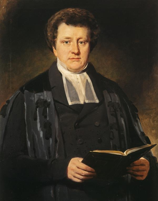 Rev. William Cunningham, 1805 - 1861. Theologian (About 1844)