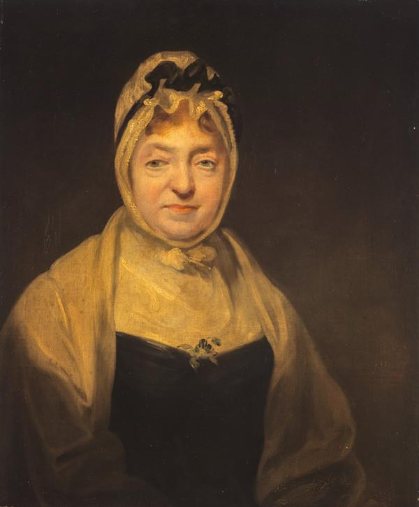 Anne Rutherford, Mrs Walter Scott, about 1739 - 1819. Mother of Sir Walter Scott (after 1790)