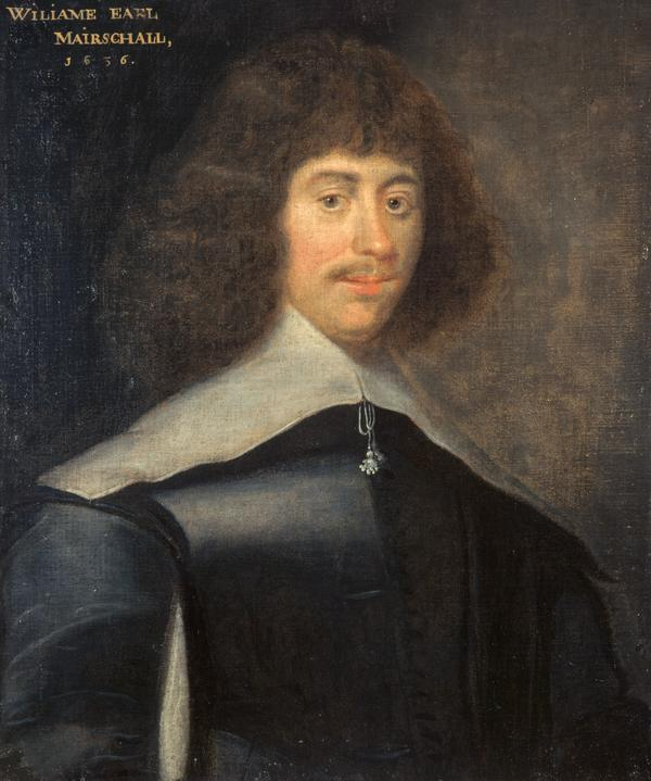 William Keith, 7th Earl Marischal, 1614 - 1661. Leader of the Covenanters (Dated 1636)