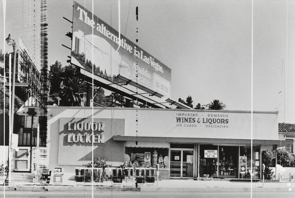 Liquor Locker (Sunset Strip Portfolio) (1976 / 1995)