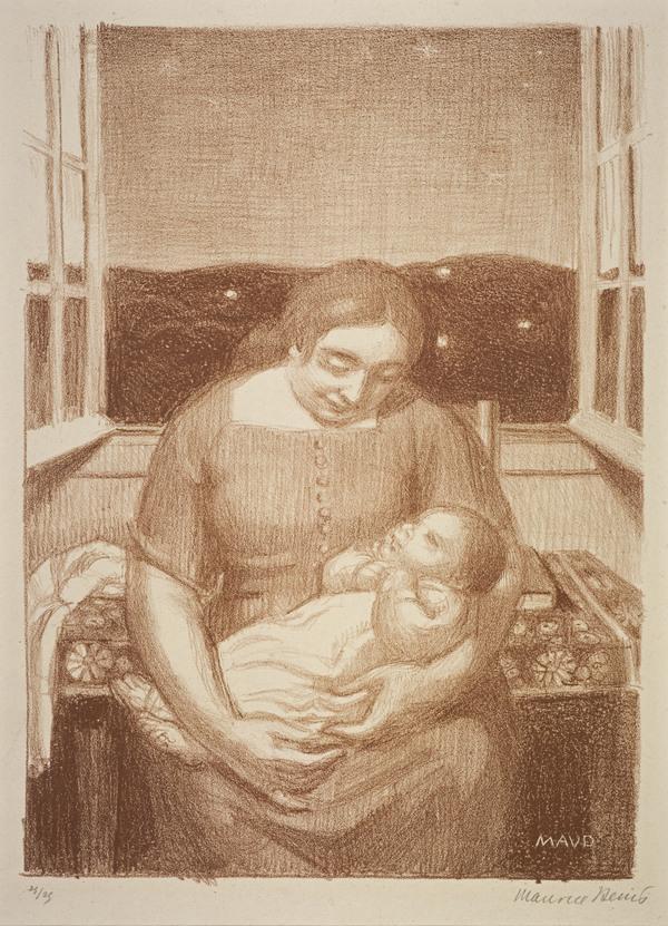Maternité à la fenêtre ouverte [Maternity and Open Window] (1926)
