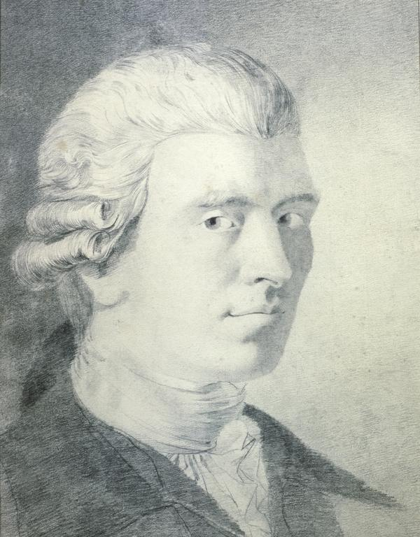 Andrew Duncan, 1744 - 1828. President of the Royal Medical Society and of the Royal College of Physicians (About 1780)