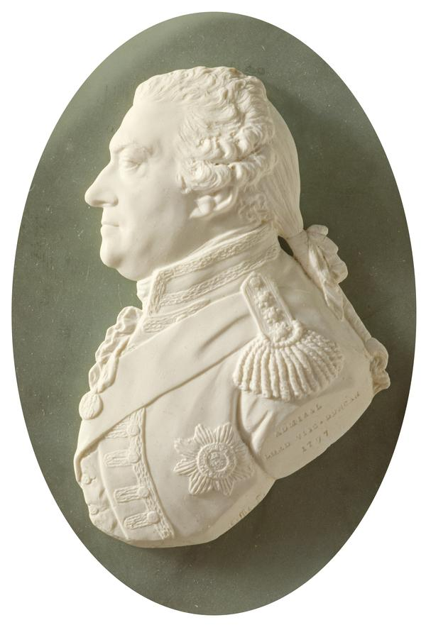 Adam Duncan, 1st Viscount Duncan of Camperdown, 1731 - 1804. Admiral (Dated 1797)