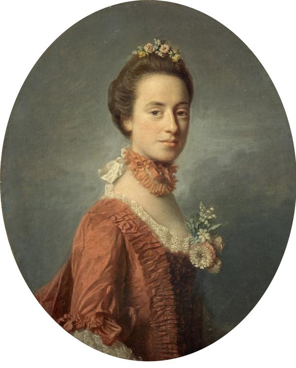 Mary Degg, Lady Robert Manners (1737 - 1829) (About 1756)