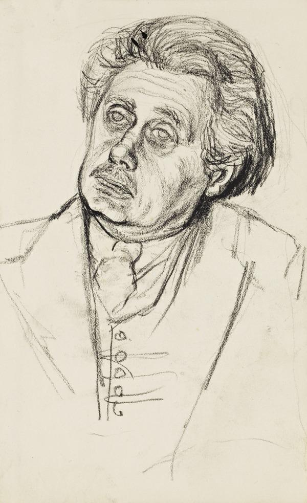 Portrait Study of Hugh MacDiarmid (About 1954)