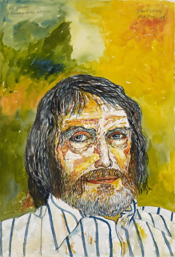 Self-Portrait (from 'The Addenbrookes Hospital Series') (Dated 23 May 1988)