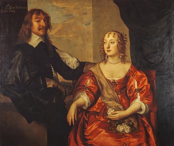 John Hamilton, 1st Baron Belhaven, d. 1679. Royalist (With his wife, Margaret Hamilton)