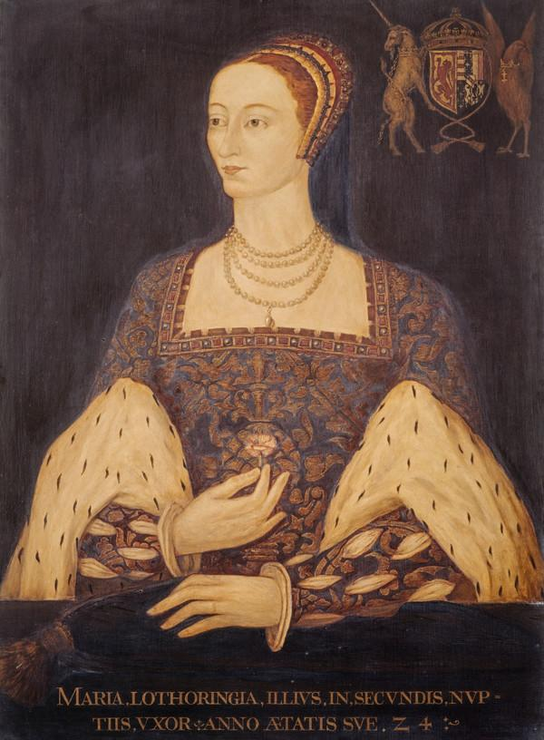 Mary of Guise, 1515 - 1560. Queen of James V (Commissioned in 1924)