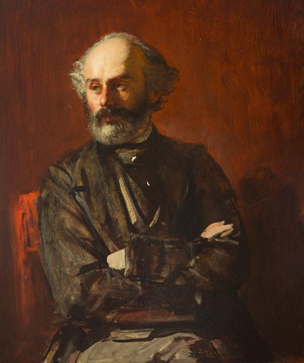 John Phillip, 1817 - 1867. Artist (Self-portrait)