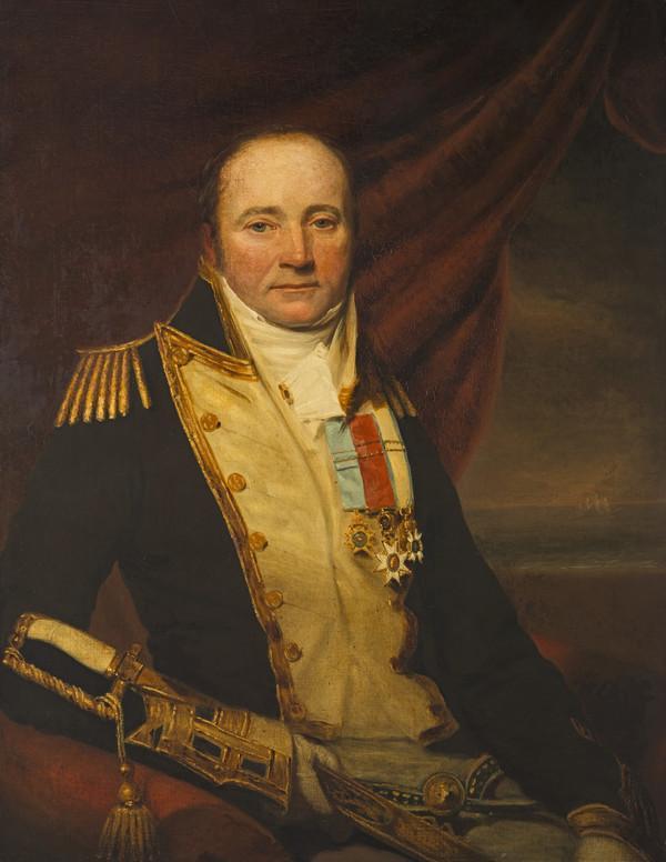Sir Arthur Farquhar, 1772 - 1843. Rear-Admiral (About 1837)