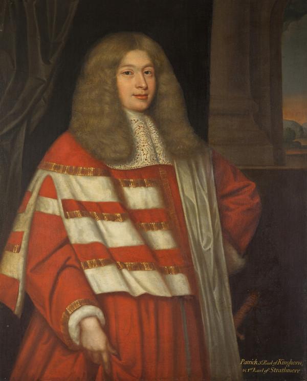 Patrick Lyon, 1st Earl of Strathmore, 1643 - 1695. Privy Councillor (1665 - 1670)