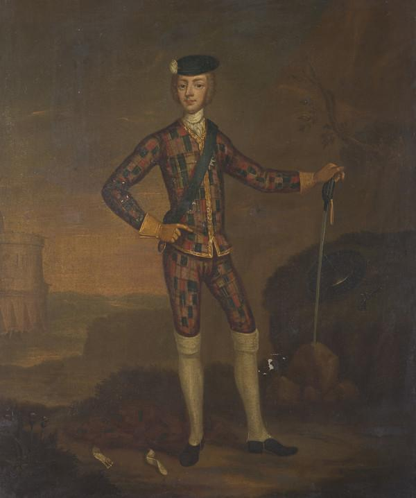 Prince Charles Edward Stuart, 1720 - 1788. Eldest son of Prince James Francis Edward Stuart (About 1750)