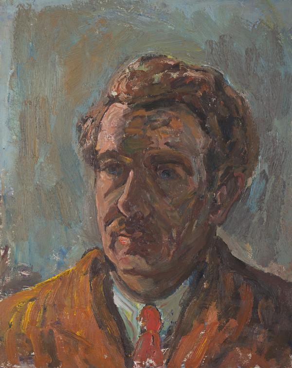 Sir William MacTaggart, 1903 - 1981. Artist (Self-portrait)