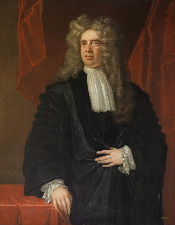 Sir James Steuart of Goodtrees, 1635 - 1713. Advocate (About 1712)