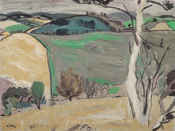 Landscape above Stow (About 1952 - 1954)