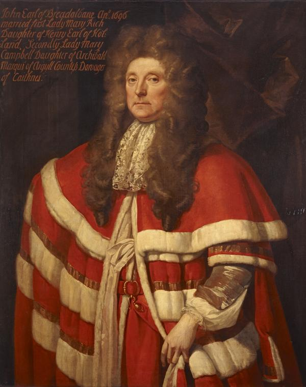 John Campbell, 1st Earl of Breadalbane, about 1635 - 1716. Soldier and statesman (after 1690)